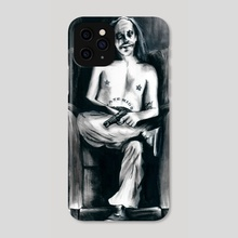 The Clown Who Wasn't Funny - Phone Case by Zombie Rust