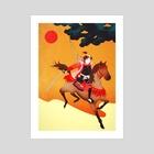 Samurai - Art Print by Sai Tamiya