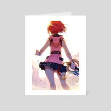 It's my turn - Art Card by Dagneo