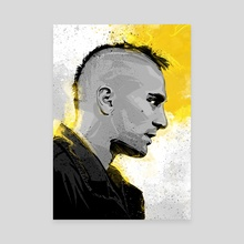 Taxidriver - Canvas by Nikita Abakumov