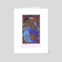 Ms Lionette - Art Card by Jin