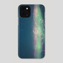 christmas mist - Phone Case by drewmadestuff