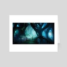 Overgrown - Art Card by Alyn Spiller