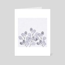 Winter Eucalyptus - Art Card by Modern Tropical