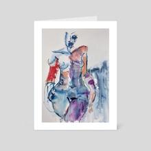 Onsdag - Art Card by Per Kunst