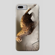 Cheetah - Phone Case by Andrada Aurora  Hansen