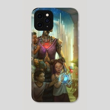 The Future of Human Aging - Phone Case by Julie Dillon