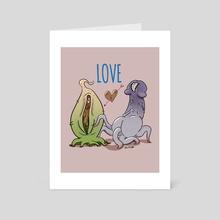Love V.2 - Art Card by Chris Clinebell