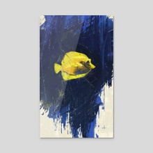 Sea Life - Acrylic by Allison Gloe