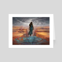 Arid World - Art Card by Julie Dillon