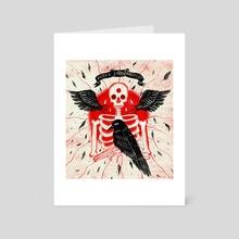 Putrefaction - Art Card by Evangeline Gallagher