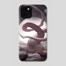 Faith Over Sanity - Phone Case by Lorant Toth