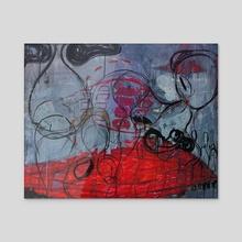 O-Point. - Acrylic by Tara Massarsky