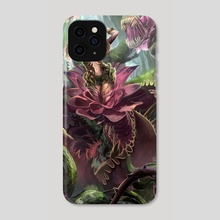 Corrupted flower - Phone Case by Vanette Kosman
