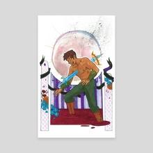 Cursed Prince - Canvas by Kara Leopard