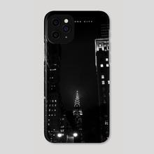 NYC Noir 003 - Phone Case by Nikita Abakumov