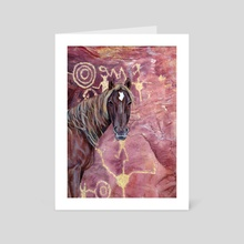Petroglyph - Art Card by Mark Green