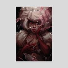 Pink Diamond - Canvas by Emilyena