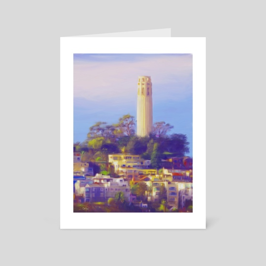 Coit Tower by Tom Carlos