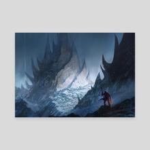The Peak - Canvas by Jorge Jacinto