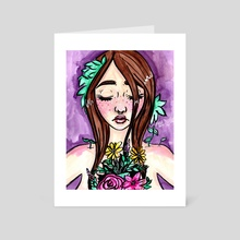 Growth - Art Card by Brittany  Moselina