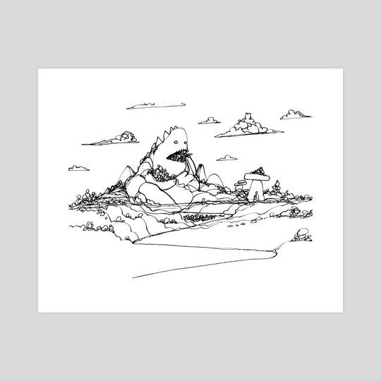 Mountain Troll by Shelby Ulibarri