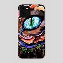 Cat's Eye - Phone Case by Kat Powell