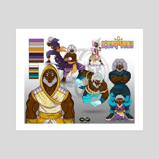King Yah (Character Sheet) by Corey Coleman