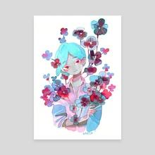 Blue - Canvas by koyamori