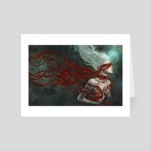 I won't go quietly - Art Card by Marcela Bolivar