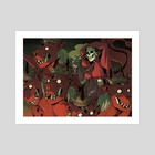 Mother Harlot - Art Print by Michelle Wong