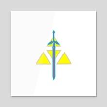 Sword of Legend - Acrylic by Marvel Jean-Pierre