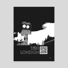 LONDON - Canvas by Samuel Stroud