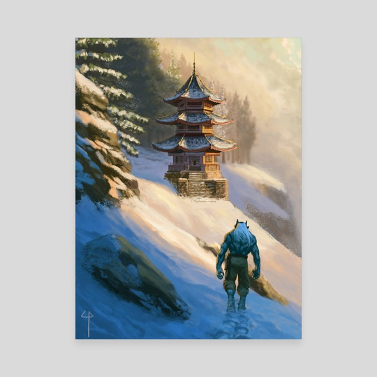 Oni in Winter by Claudio Pozas