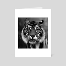 Tiger - Art Card by Marjorie Serra