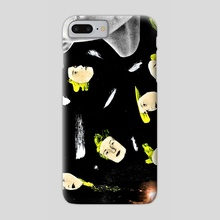 NINE LIVES - Phone Case by Anthony Knott