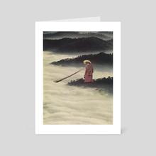 Sea of Fog - Art Card by Lerson