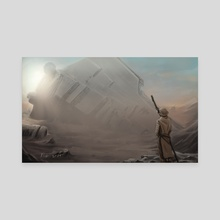 jakku - Canvas by Miguel Blanco