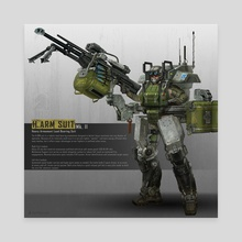 H.ARM SUIT MK 2 - Canvas by Eliott Lilly
