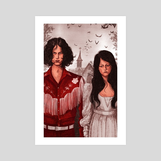 The White Stripes by Martha Walker