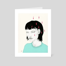 It Doesn't Matter Anymore - Art Card by Nayla Smith