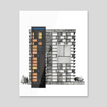 Windows - Acrylic by Fabien Daubet
