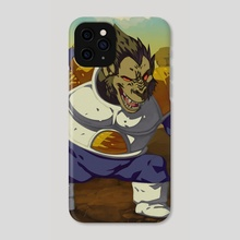 Ozaru Vegeta - Phone Case by Ketsuo Tategami