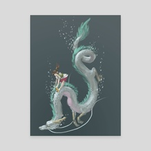 spirited away - Canvas by Claire Gary