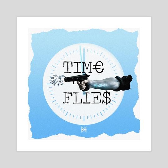 Time Flies by Billel Bé