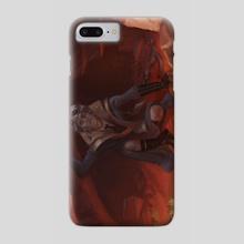 Eldrad the Wild Mage - Phone Case by Tamires Para