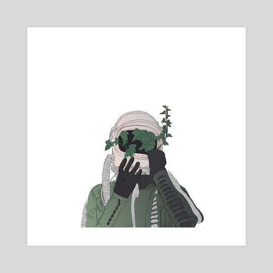 Helmet by Dalton Mannerud