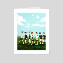 Dream Lost Boys - Art Card by Jessica Cvilo