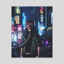 Overhaul - Canvas by 火 Ballz Artz