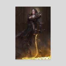 Heretica - Sister Saphia Reg - Canvas by Mario Vazquez